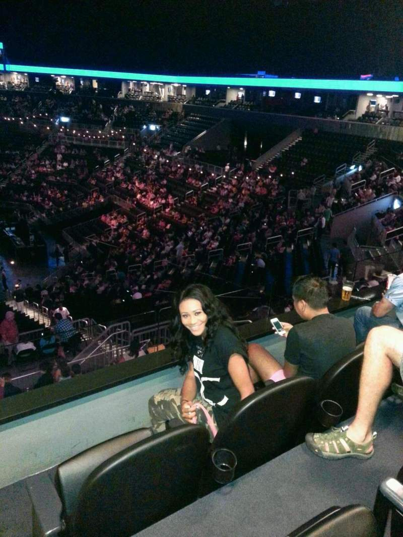 Seating view for Barclays Center Section Suite A51 Row 1 Seat 1