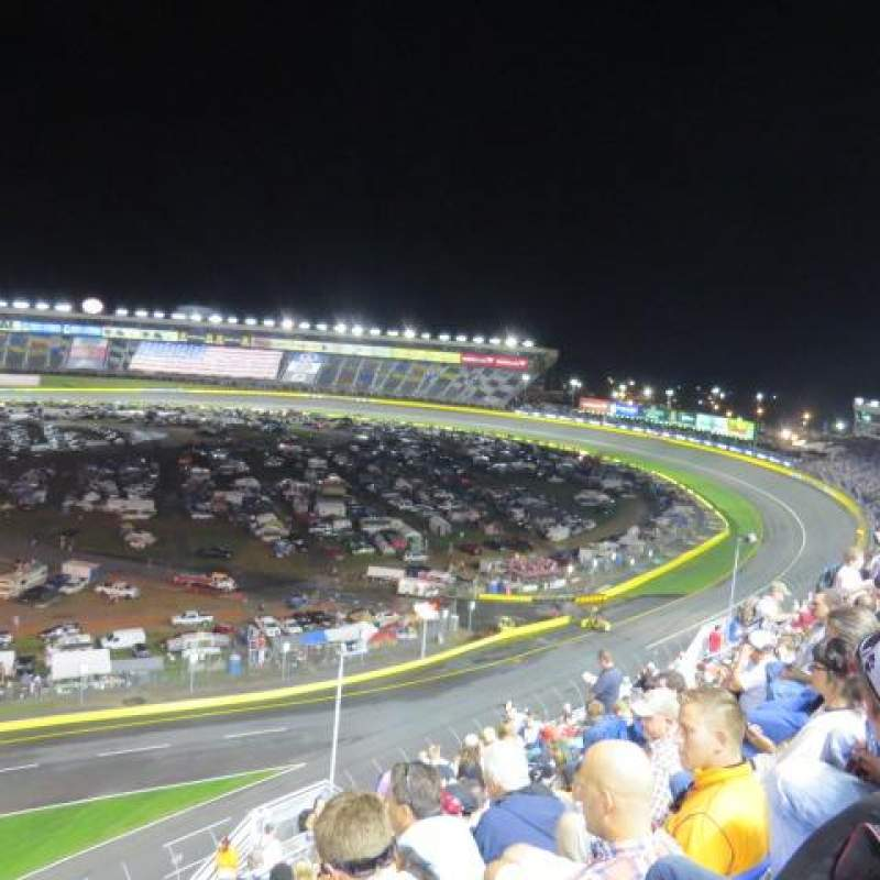 Seating view for Charlotte Motor Speedway Section Ford Row 61 Seat 21