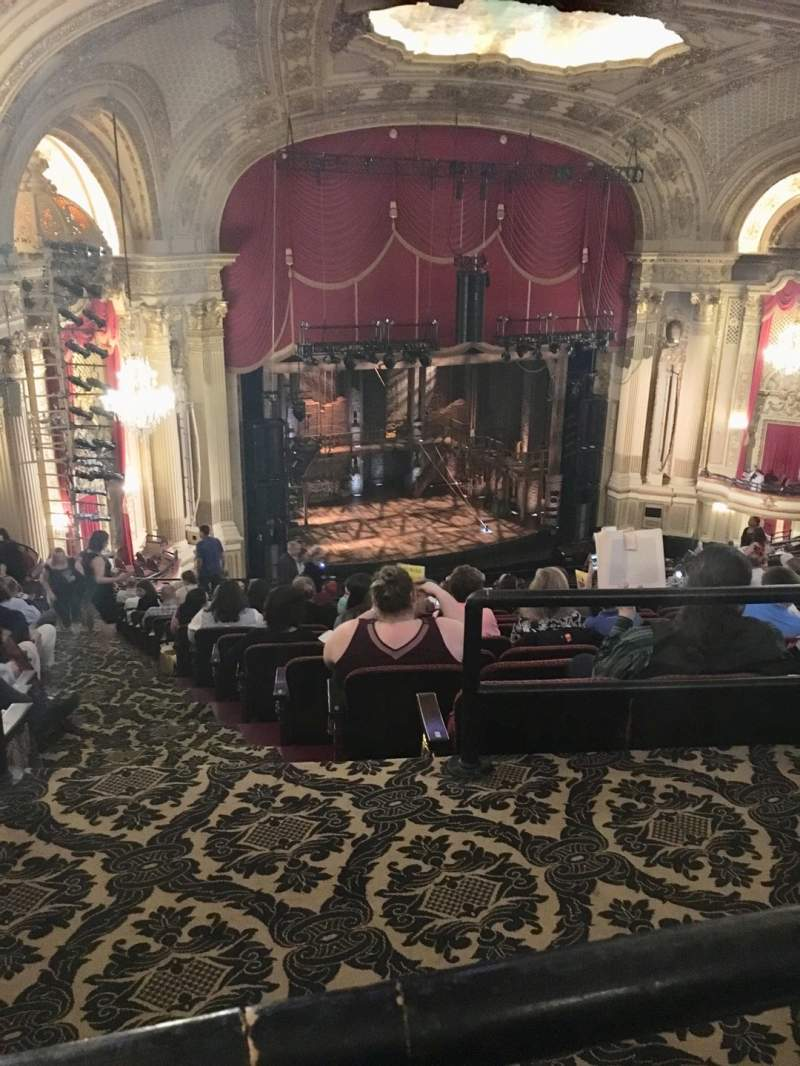 Seating view for Citizens Bank Opera House Section BALLFT Row P Seat 43