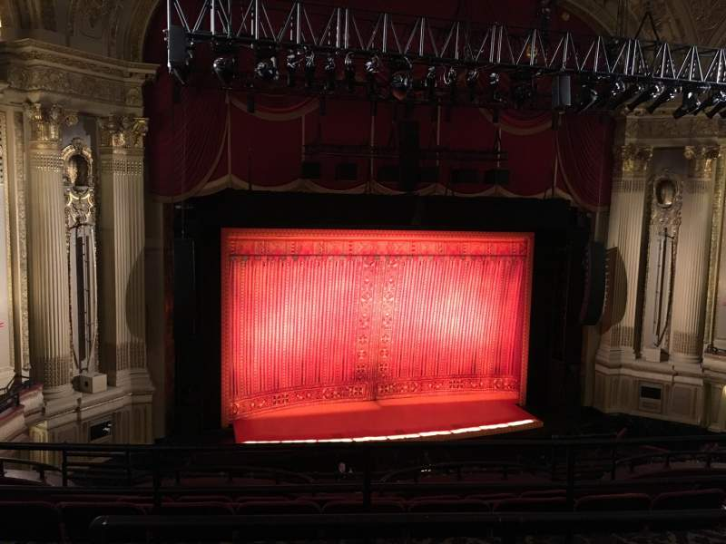 Seating view for Boston Opera House Section MEZZLC Row C Seat 125