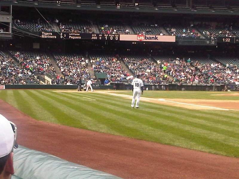 Seating view for Safeco Field Section 116 Row 2 Seat 16