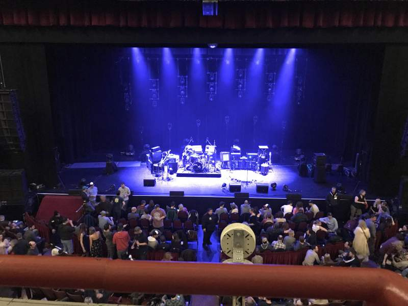 Seating view for Chicago Theatre Section Loge4 Row AA Seat 405