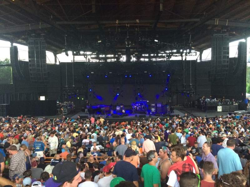 Seating view for Alpine Valley Music Theatre Section 202 Row GG Seat 128