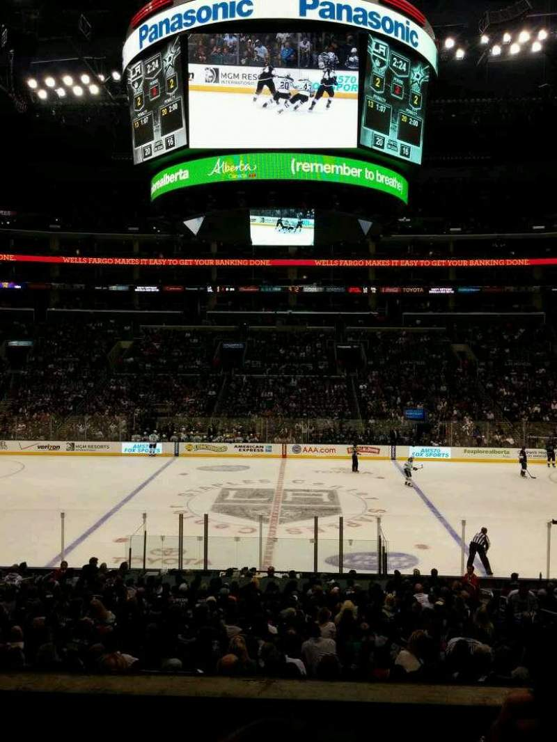 Seating view for Staples Center Section PR14 Row 3 Seat 5