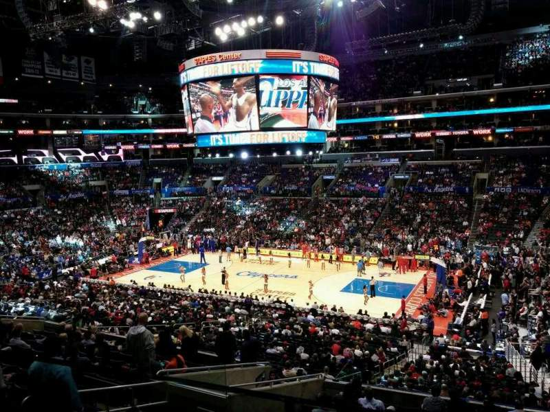 Seating view for Staples Center Section Suite A43