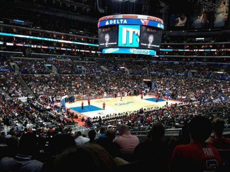Seating view for Staples Center Section PR17 Row 9 Seat 10