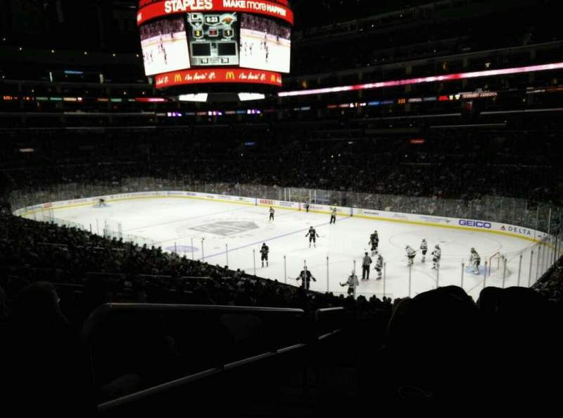 Seating view for Staples Center Section PR1 Row 9 Seat 14