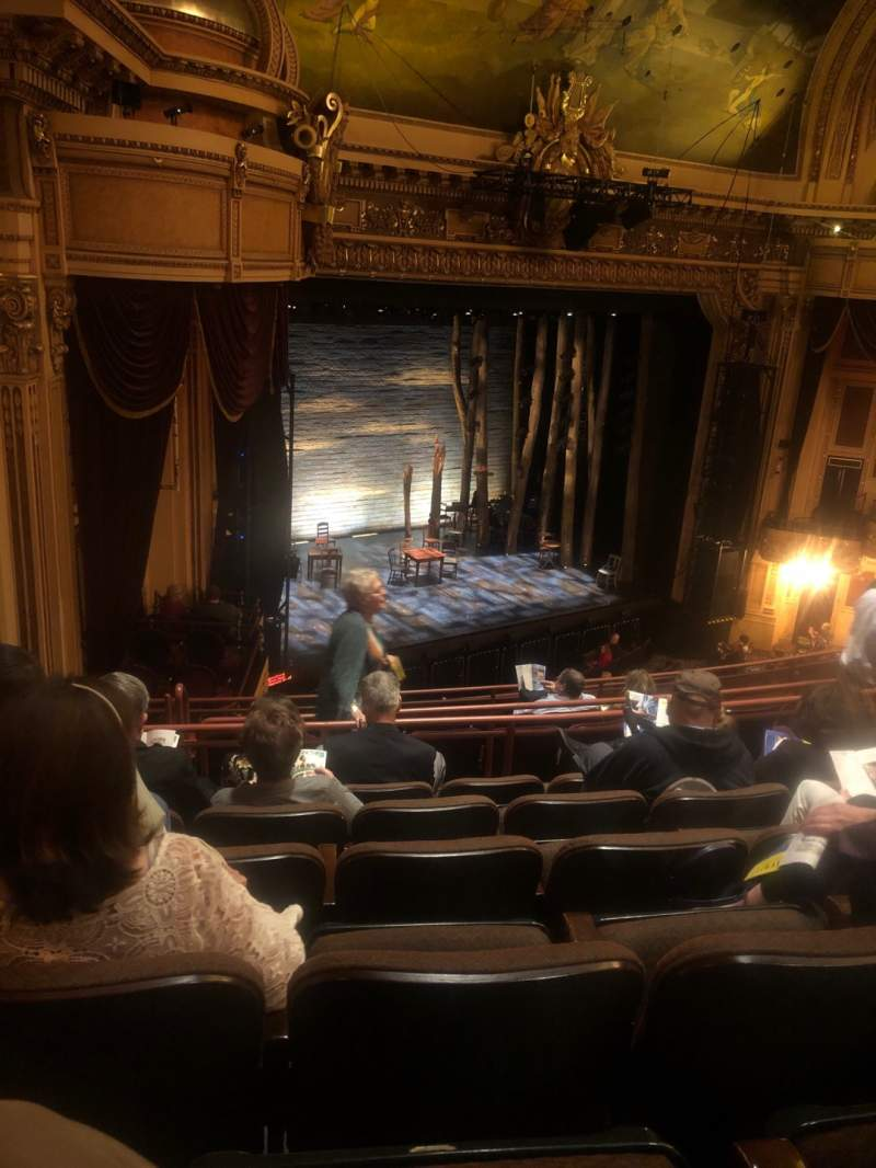 Seating view for Hippodrome Theatre Section Left Middle Balcony Row J Seat 231