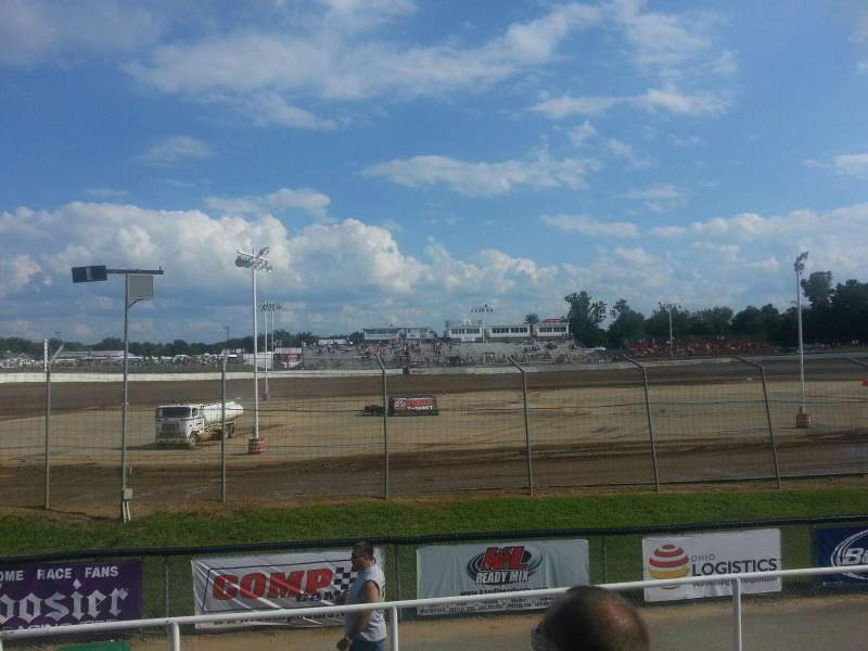 Seating view for Limaland Motorsports Park Section Reserved Row L Seat 16