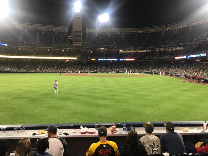 Seating view for PETCO Park Section 128 Row 3 Seat 15