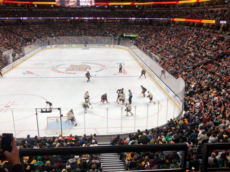 Seating view for Honda Center Section 326 Row B Seat 11