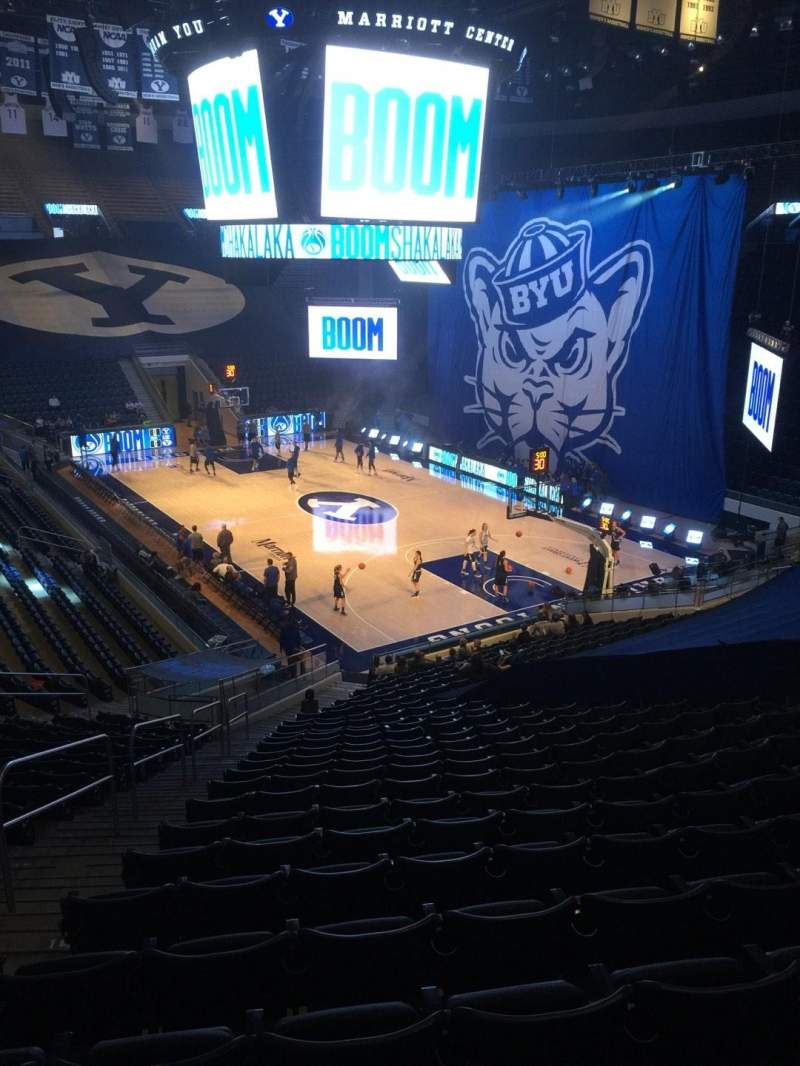 Seating view for Marriott Center Section 5 Row 24 Seat 17