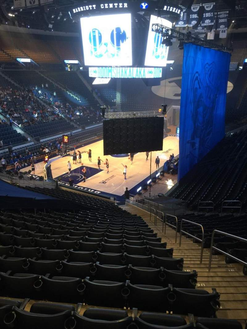 Seating view for Marriott Center Section 2 Row 25 Seat 3