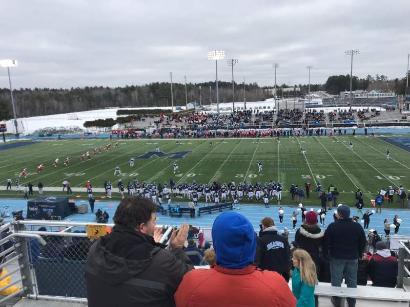 Seating view for Alfond Stadium Section BB Row 3 Seat 24
