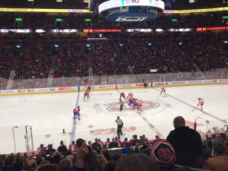 Seating view for Centre Bell Section 102 Row K Seat 1