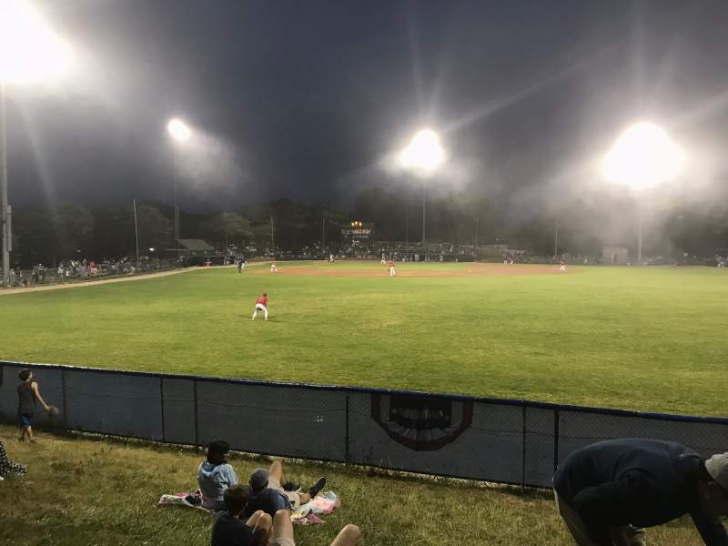 Seating view for Veteran's Field (Chatham)Seat GA