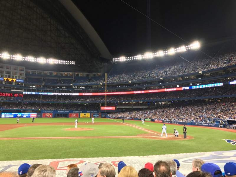 Seating view for Rogers Centre Section 125L Row 13