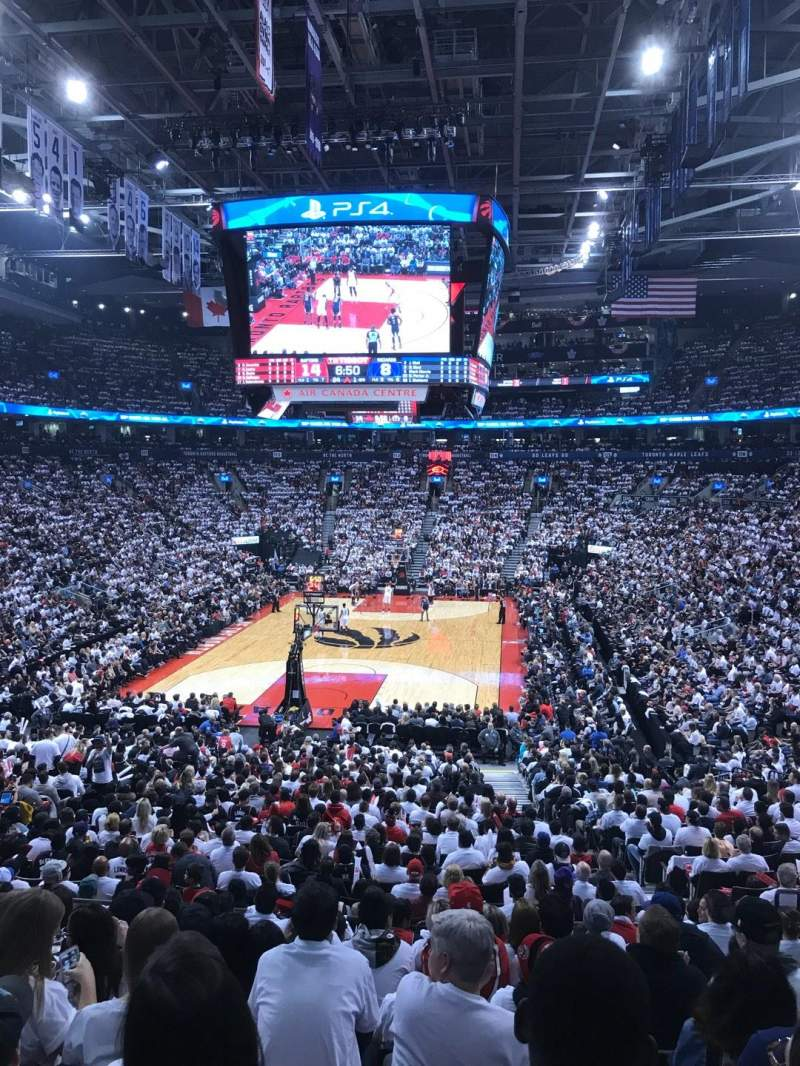 Scotiabank Arena, section: 102, row: 26, seat: 7