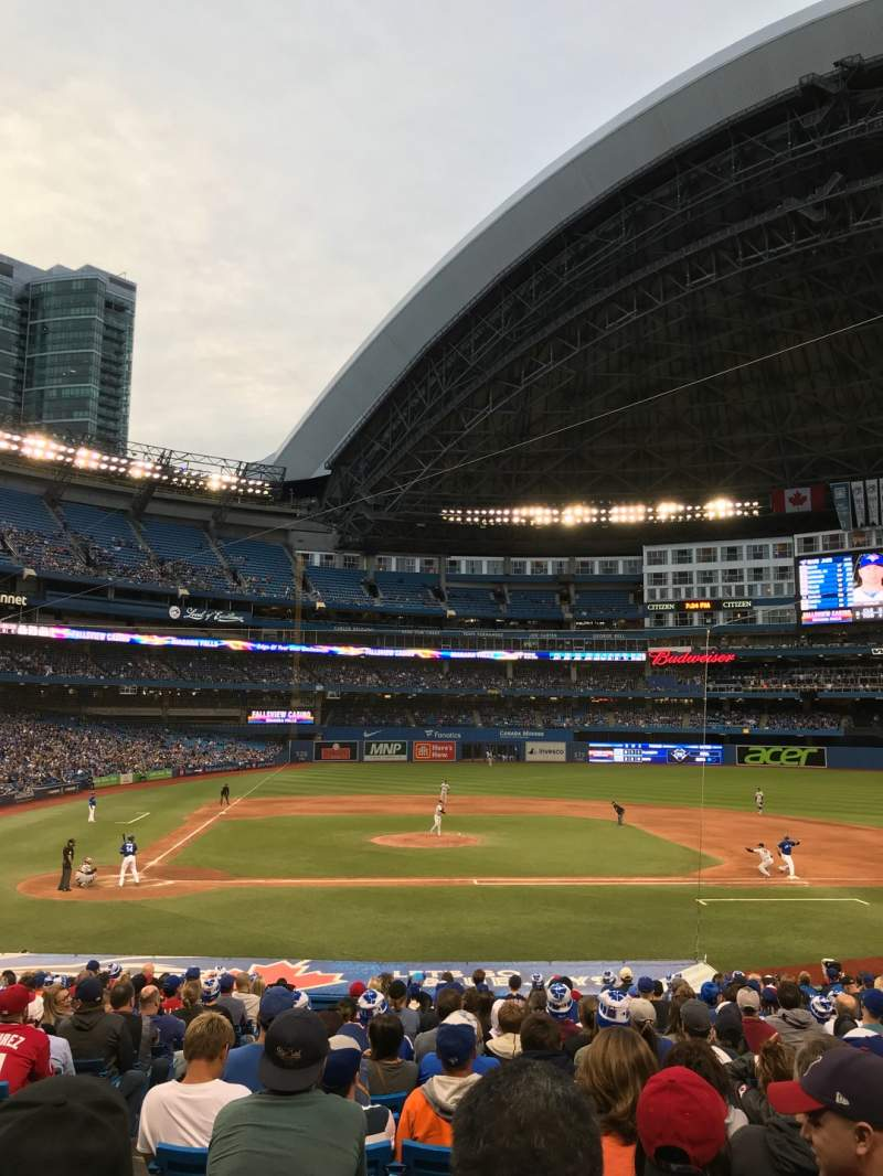 Seating view for Rogers Centre Section 118R Row 29 Seat 3