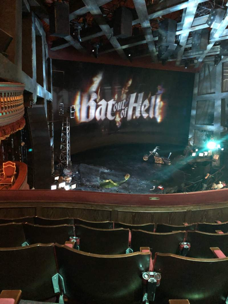 Dominion Theatre Section Circle Row E Seat 48 Bat Out Of Hell Shared By Reissmeister