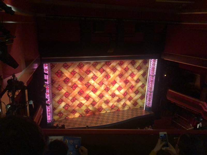 Seating view for Adelphi Theatre Section Upper Circle Row C Seat 32