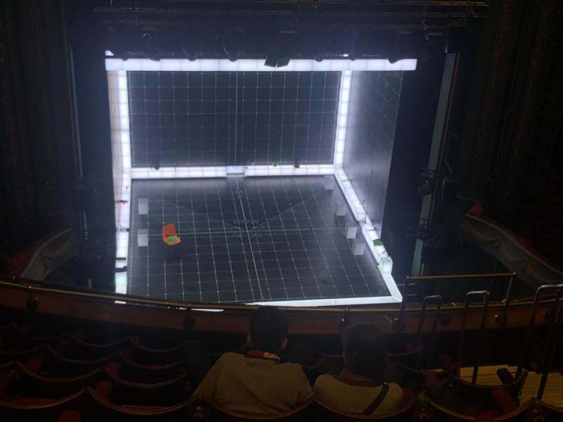 Seating view for Piccadilly Theatre Section Grand Circle Row H Seat 19
