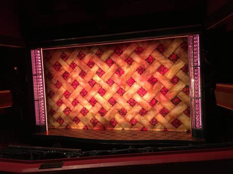 Seating view for Adelphi Theatre Section Dress Circle Row B Seat 11