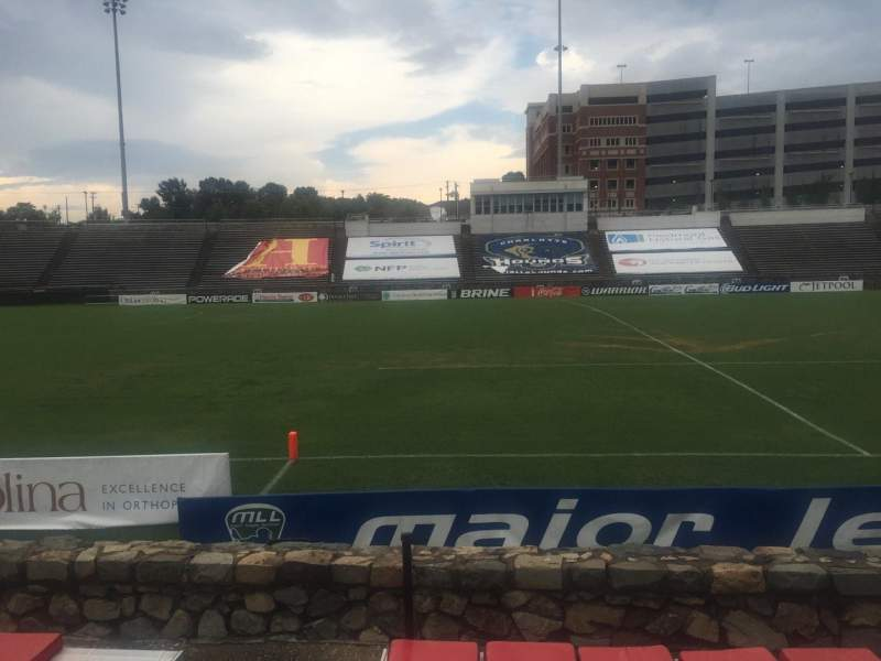 Seating view for American Legion Memorial Stadium Section 18L Row F Seat 16