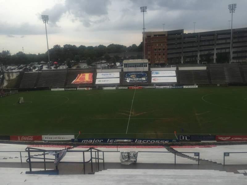 American Legion Memorial Stadium, section: 10, row: LL, seat: 19