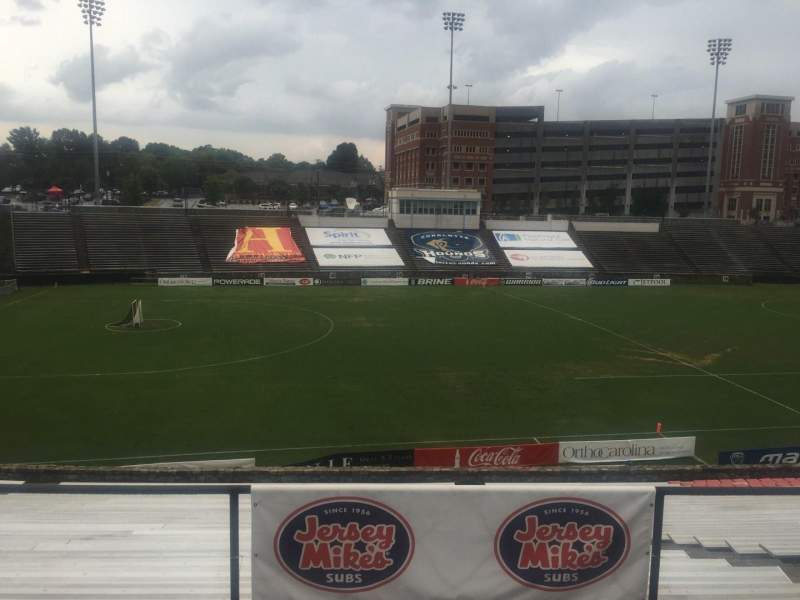 Seating view for American Legion Memorial Stadium Section 13 Row AS Seat 2