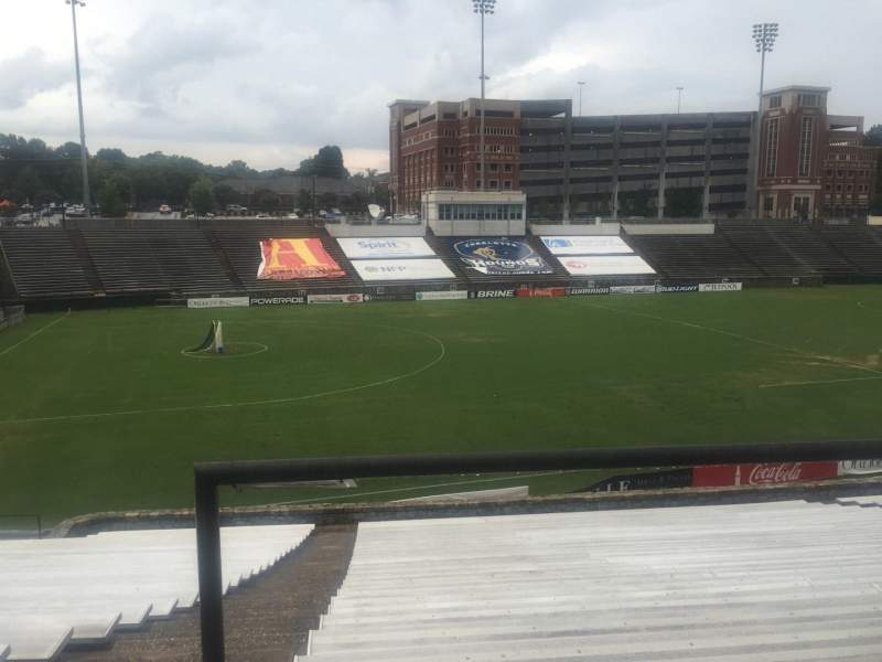 Seating view for American Legion Memorial Stadium Section 14 Row CC Seat 3