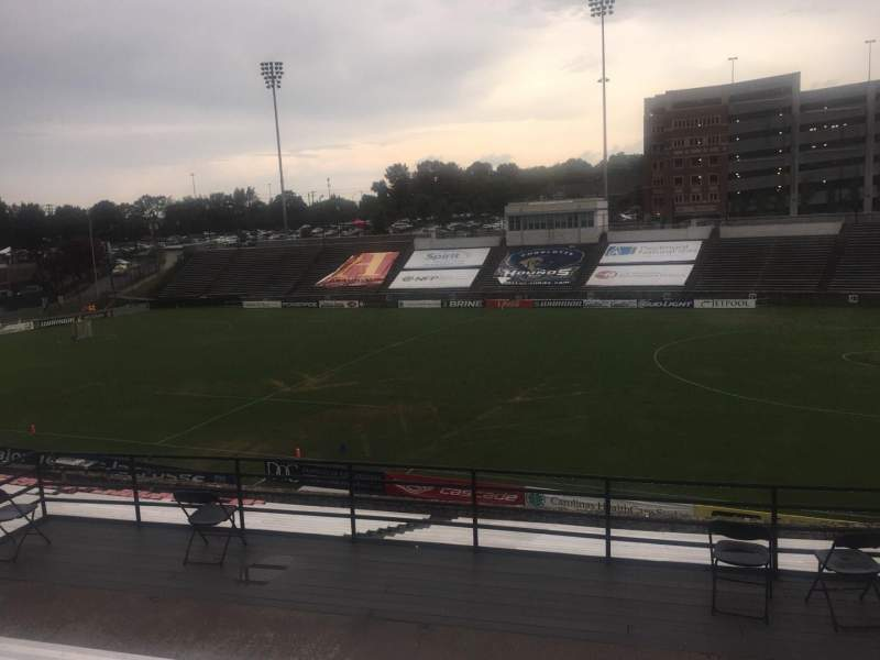 Seating view for American Legion Memorial Stadium Section 3 Row FF Seat 30