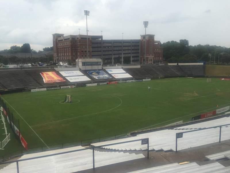 American Legion Memorial Stadium, section: 8, row: FF, seat: 30