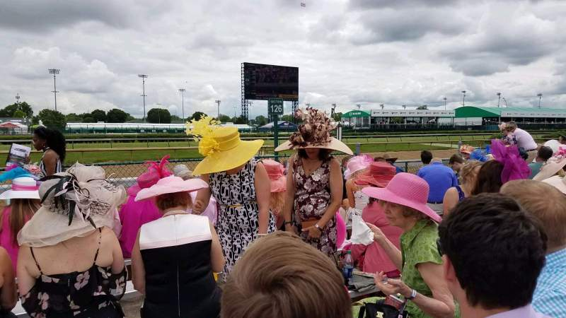 Seating view for Churchill Downs Section 126 Row G Seat 53