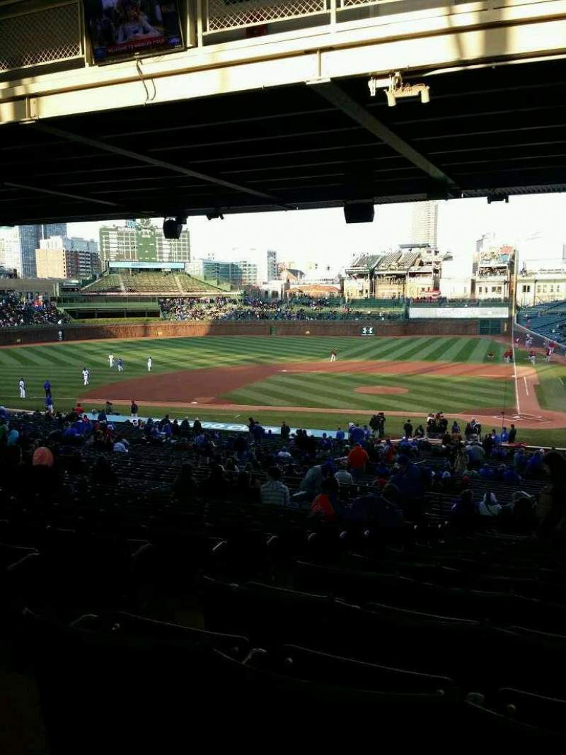 Seating view for Wrigley Field Section 216 Row 17 Seat 3