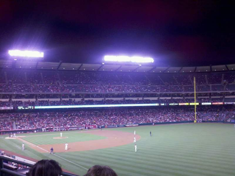 Seating view for Angel Stadium Section C346 Row b Seat 11