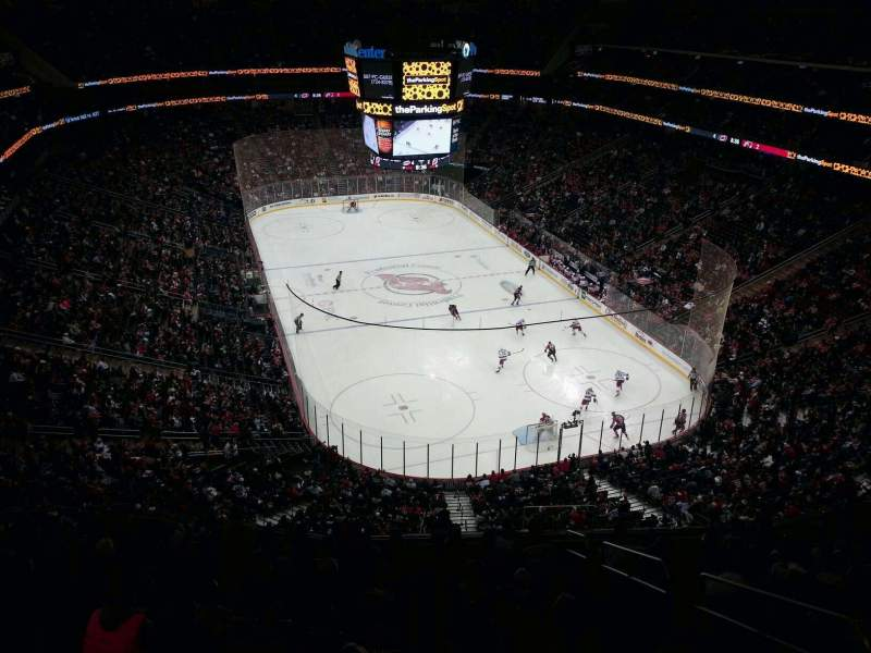 Seating view for Prudential Center Section 101 Row 13W Seat 1