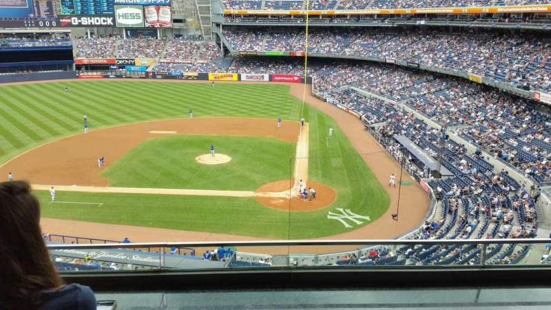 Seating view for Yankee Stadium Section Suite 43 Row B Seat 2