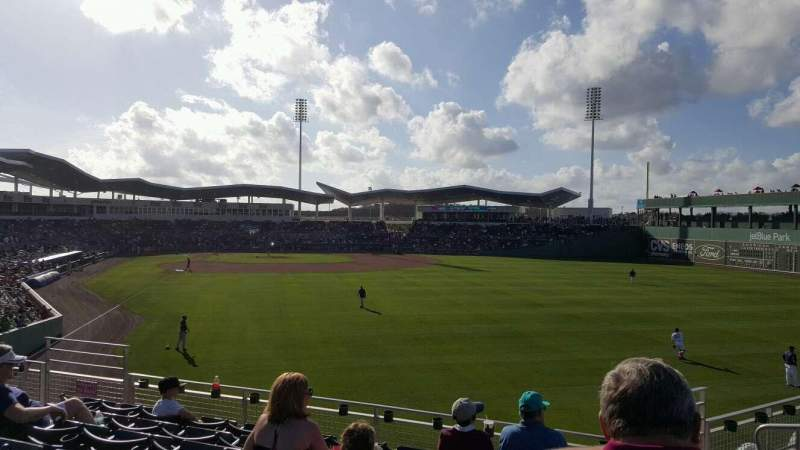 Seating view for JetBlue Park Section 227 Row 13 Seat 12