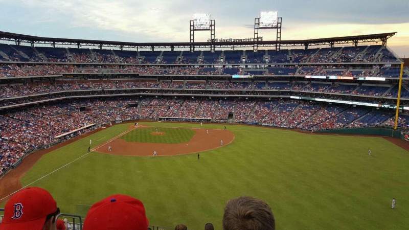 Seating view for Citizens Bank Park Section 301 Row 8 Seat 17
