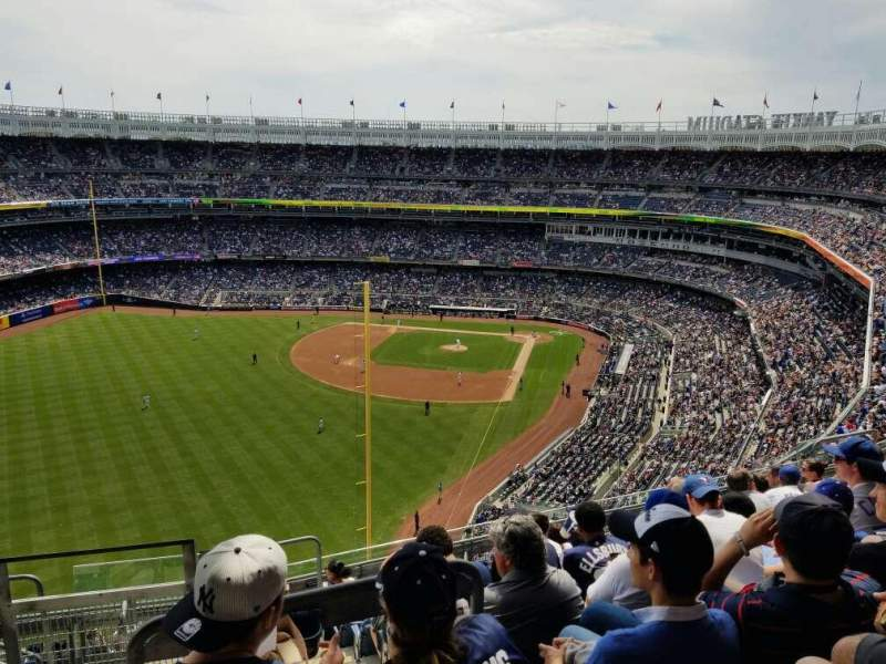 Seating view for Yankee Stadium Section 432B Row 9 Seat 20