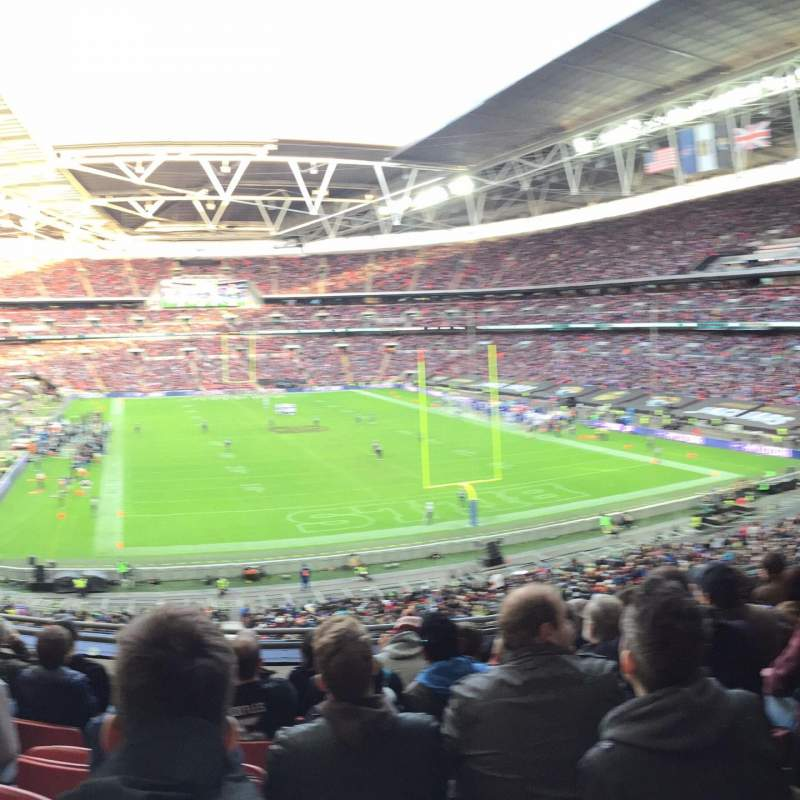 Seating view for Wembley Stadium Section 241 Row 7 Seat 50