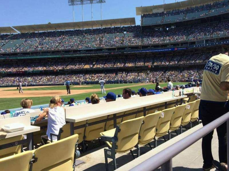 Seating view for Dodger Stadium Section 35FD Row A Seat 5