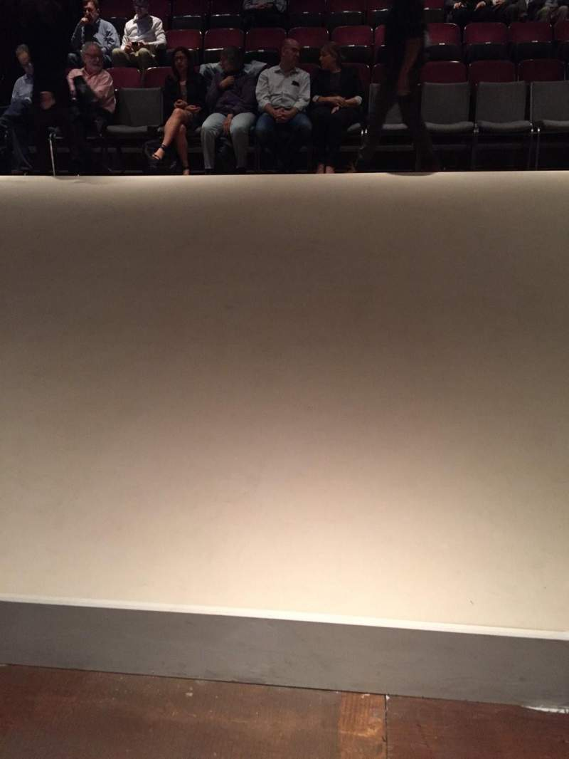 Seating view for Classic Stage Company Section Left Row A Seat 109