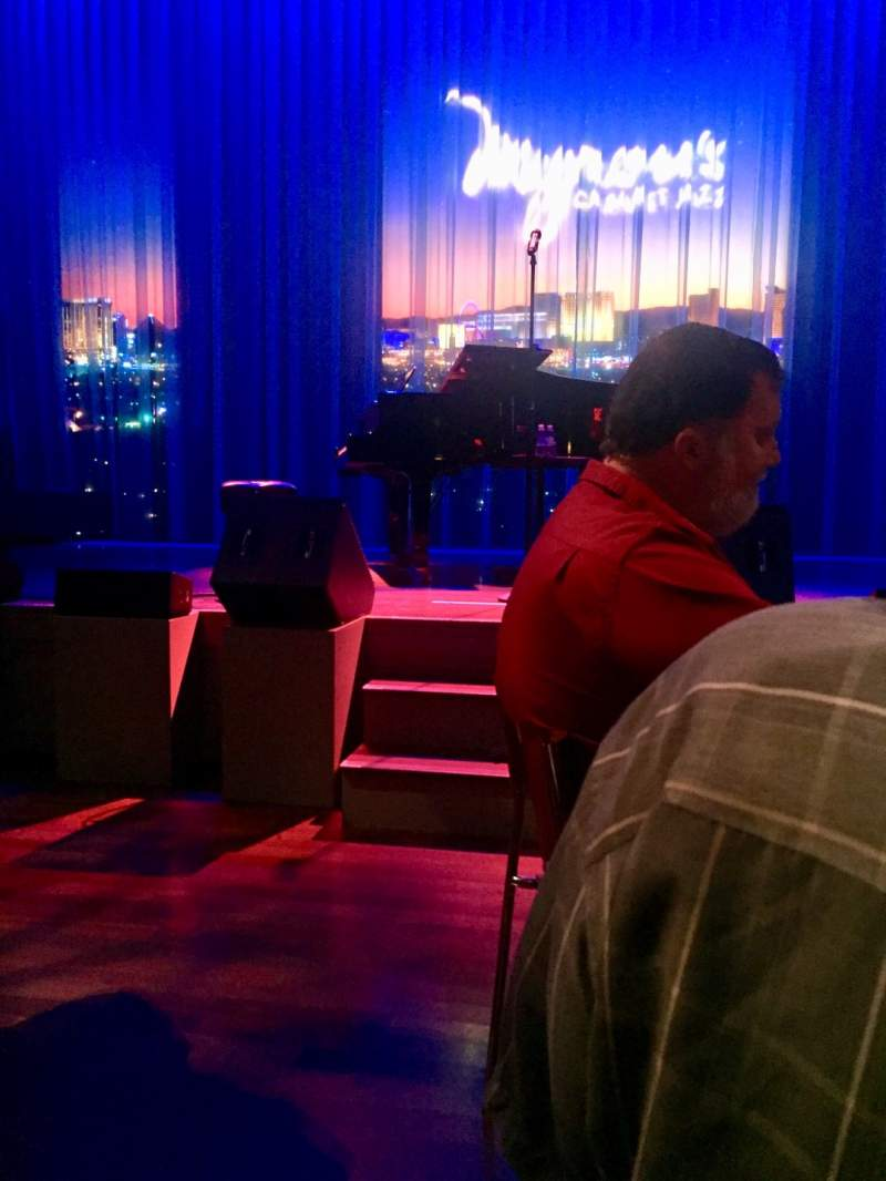 Seating view for Myron's Cabaret Jazz at The Smith Center Section Cabaret Jazz Row Table Seat 46
