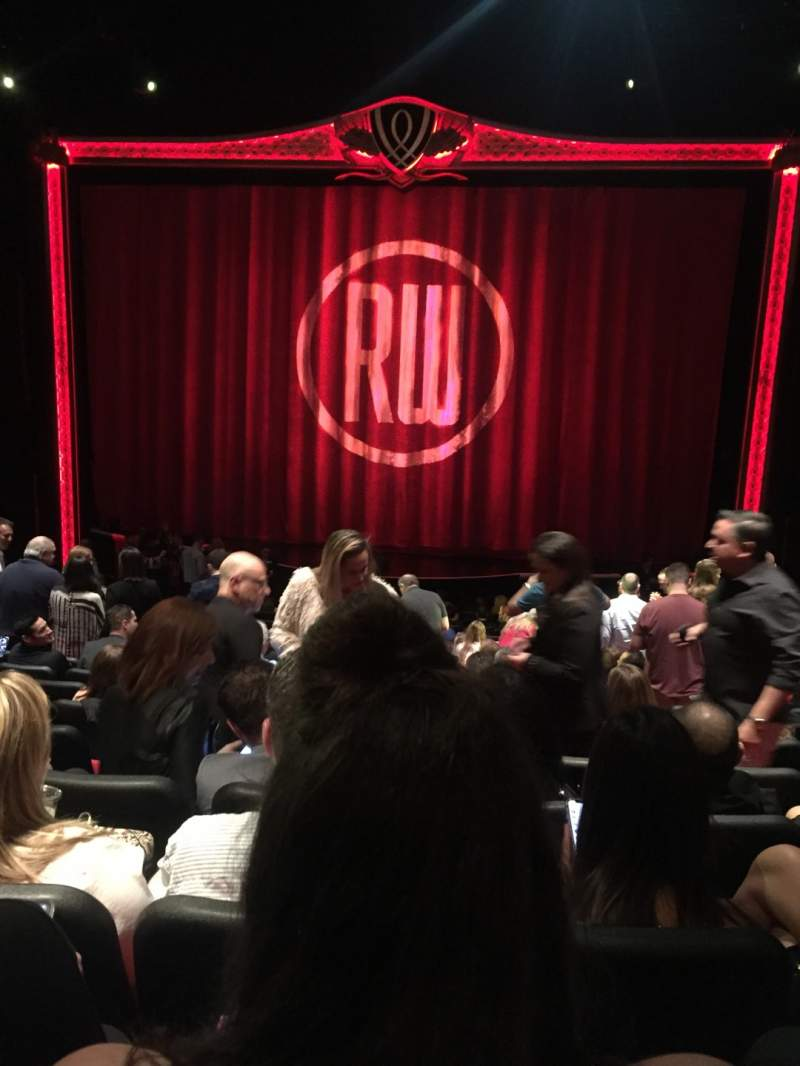 Seating view for Encore Theatre At Wynn Section Center Orchestra Row T Seat 107