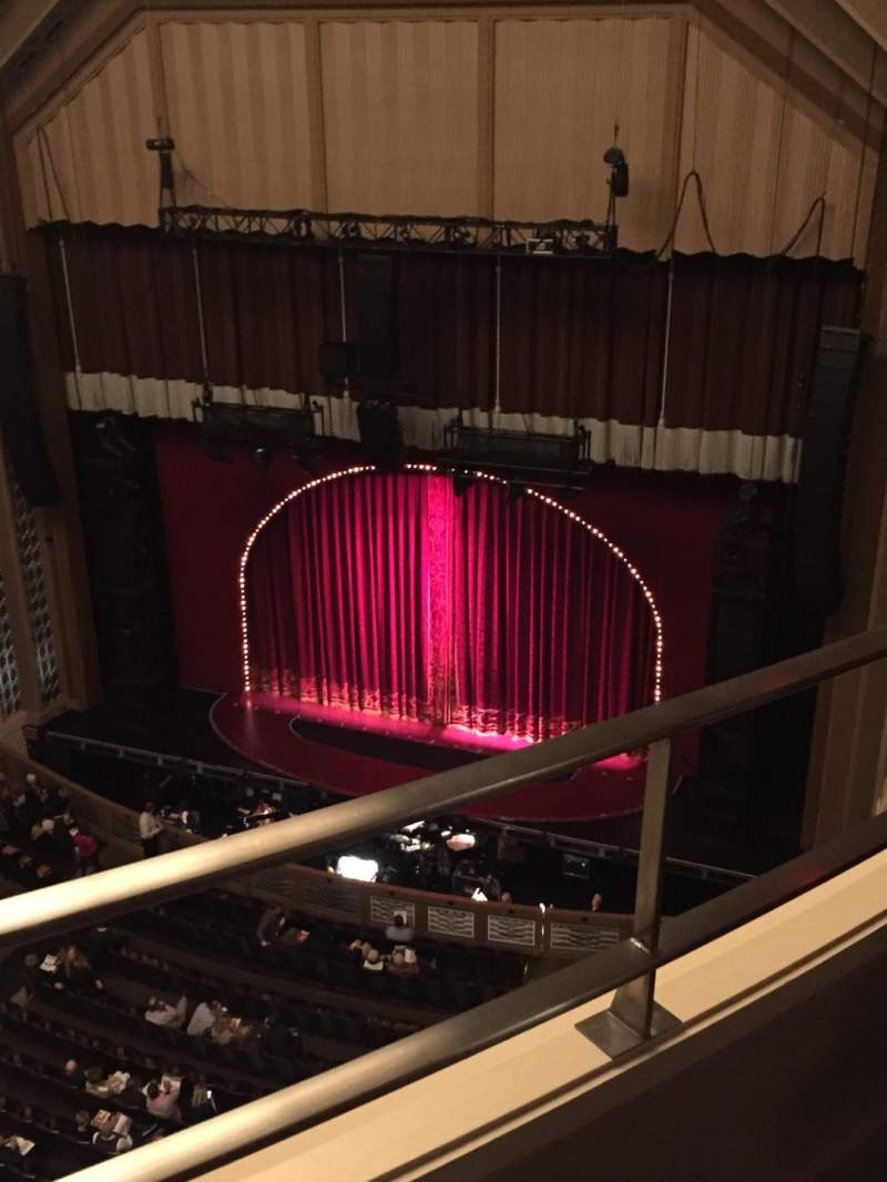 Seating view for Reynolds Hall at The Smith Center Section Balcony Row A Seat 242