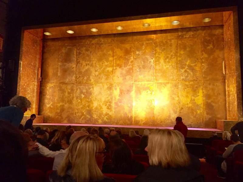 Seating view for Cort Theatre Section Orchestra Row L Seat 112