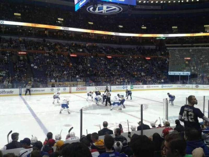 Seating view for Scottrade Center Section 104 Row K Seat 10