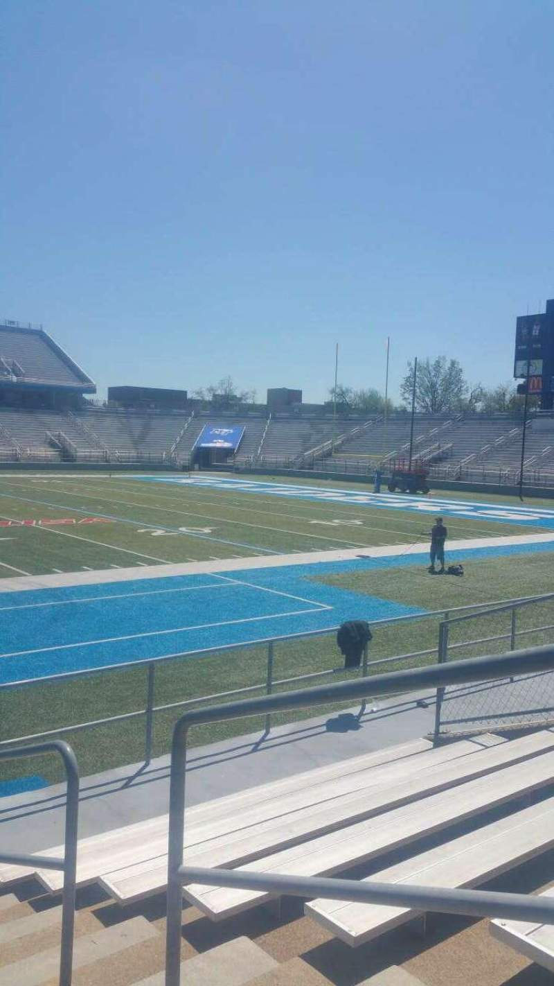 Seating view for Johnny Red Floyd Stadium Section 1R Row 8 Seat 2